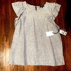 Cute striped blouse large
